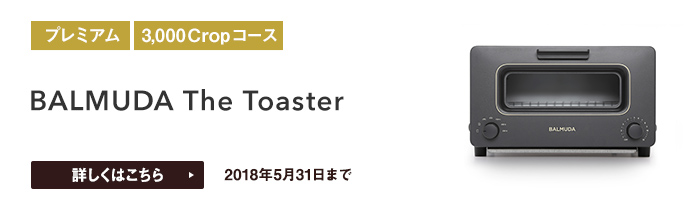 BALMUDA The Toasterをプレゼント